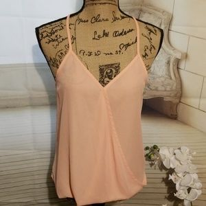Lily White Top soft peach Size S